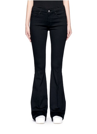 细节 - 点击放大 - VICTORIA, VICTORIA BECKHAM - 单色喇叭牛仔裤