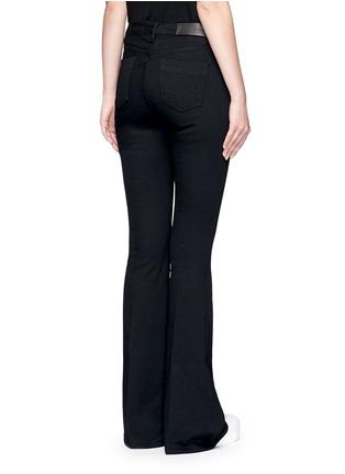 背面 - 点击放大 - VICTORIA, VICTORIA BECKHAM - 单色喇叭牛仔裤