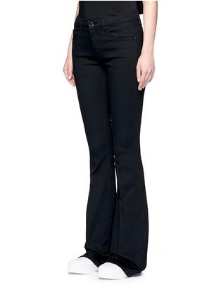 正面 - 点击放大 - VICTORIA, VICTORIA BECKHAM - 单色喇叭牛仔裤