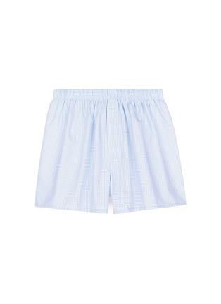 首图 - 点击放大 - SUNSPEL - 虚线格纹纯棉四角内裤