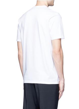 背面 - 点击放大 - MARNI - 抽象人形胶印纯棉T恤