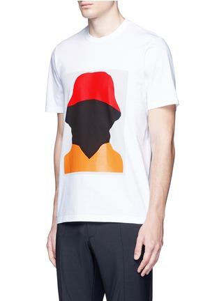 正面 - 点击放大 - MARNI - 抽象人形胶印纯棉T恤