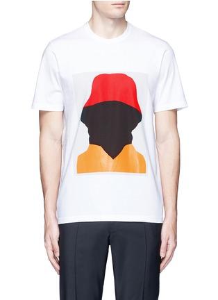 首图 - 点击放大 - MARNI - 抽象人形胶印纯棉T恤