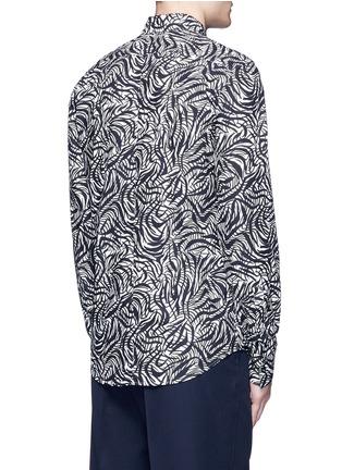背面 - 点击放大 - Marni - 弧形条纹纯棉衬衫