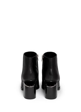背面 - 点击放大 - ALEXANDERWANG - GABI缺口式中跟短靴