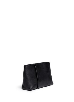 正面 - 点击放大 - ALEXANDER WANG - 'Dumbo' pebbled leather zip pouch