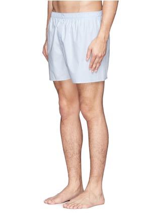 模特儿示范图 - 点击放大 - SUNSPEL - 单色纯棉平脚内裤