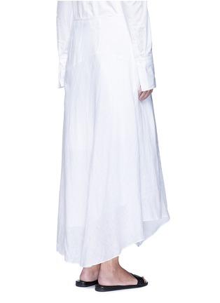 背面 - 点击放大 - THEORY - Halvinnie亚麻半身长裙