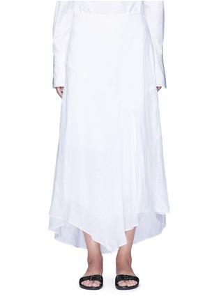 首图 - 点击放大 - THEORY - Halvinnie亚麻半身长裙