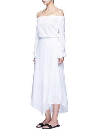模特示范图 - 点击放大 - THEORY - Halvinnie亚麻半身长裙
