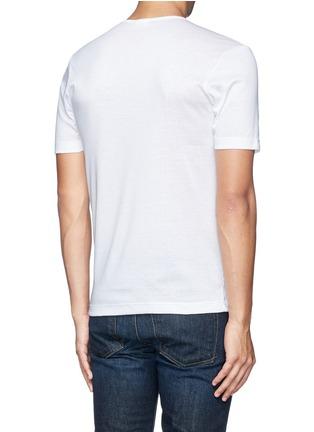 背面 - 点击放大 - ZIMMERLI - 纯棉圆领T恤
