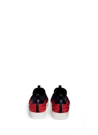 背面 - 点击放大 - ASH - LARRY渐变编织平底便鞋