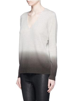 正面 -点击放大 - THEORY - ADRIANNA FD渐变色羊绒针织衫