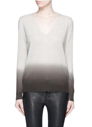 首图 - 点击放大 - THEORY - ADRIANNA FD渐变色羊绒针织衫