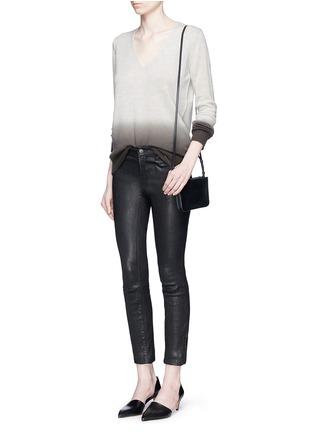 模特儿示范图 - 点击放大 - THEORY - ADRIANNA FD渐变色羊绒针织衫