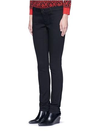 正面 - 点击放大 - GIVENCHY - 拼色星形拼贴棉质长裤