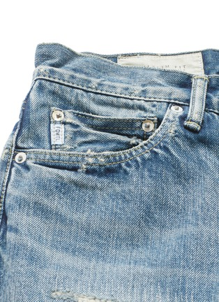 - FDMTL - TRACE磨破拼贴水洗修身牛仔裤