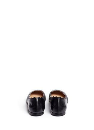 背面 - 点击放大 - CHLOÉ - LAUREN波浪鞋口小羊皮平底鞋