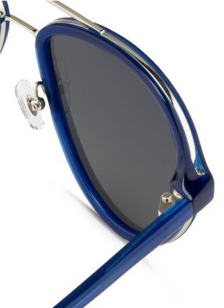 细节 - 点击放大 - 3.1 PHILLIP LIM - 双鼻梁飞行员太阳眼镜