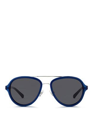 首图 - 点击放大 - 3.1 PHILLIP LIM - 双鼻梁飞行员太阳眼镜