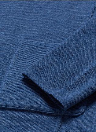 - LARDINI - 混色羊毛针织西服外套