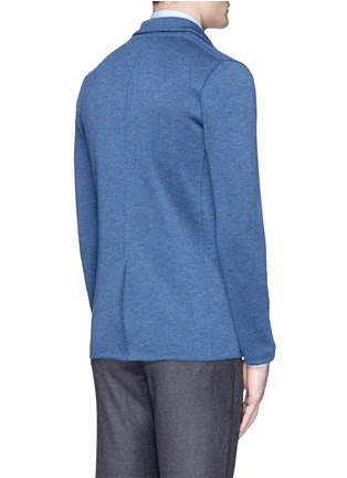 背面 - 点击放大 - LARDINI - 混色羊毛针织西服外套