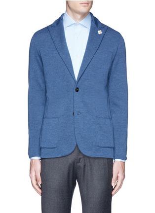 首图 - 点击放大 - LARDINI - 混色羊毛针织西服外套