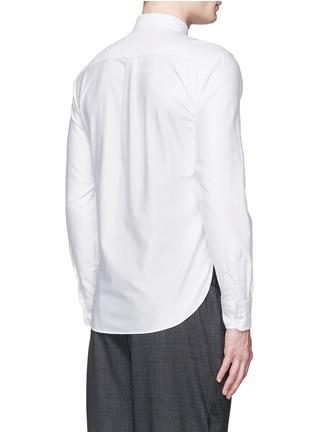 背面 - 点击放大 - MAISON KITSUNÉ - 狐狸装饰纯棉衬衫