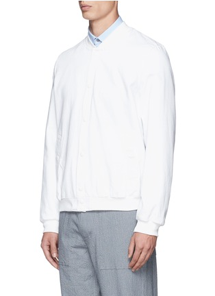 正面 - 点击放大 - MAISON KITSUNÉ - 纯棉牛仔棒球外套