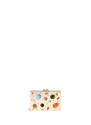 首图 - 点击放大 - CHARLOTTE OLYMPIA - 宝石装饰矩形手拿包