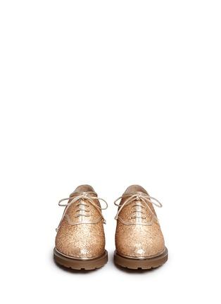 正面 -点击放大 - CHARLOTTE OLYMPIA - STEFANIA闪粉系带牛津鞋