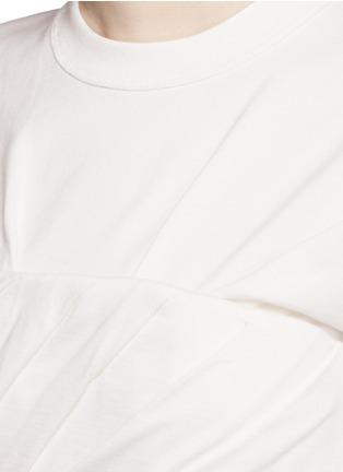 细节 - 点击放大 - ALEXANDER WANG  - 褶裥塑身衣式T恤