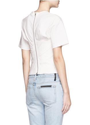 背面 - 点击放大 - ALEXANDER WANG  - 褶裥塑身衣式T恤