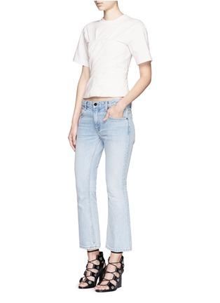 模特儿示范图 - 点击放大 - ALEXANDER WANG  - 褶裥塑身衣式T恤