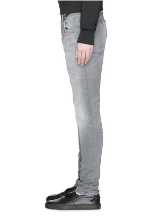 细节 - 点击放大 - DENHAM - SHANK锥形水洗牛仔裤