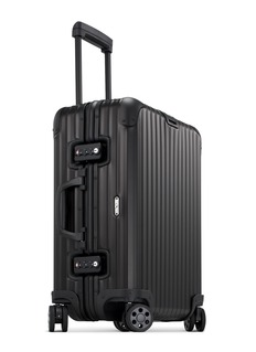 RIMOWA Topas Stealth Multiwheel®Electronic Tag电子标签行李箱-黑色(45升)
