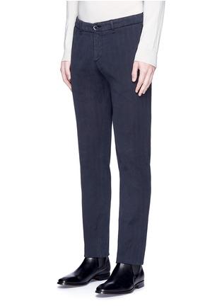 正面 -点击放大 - LARDINI - ICPARIS人字纹棉质长裤