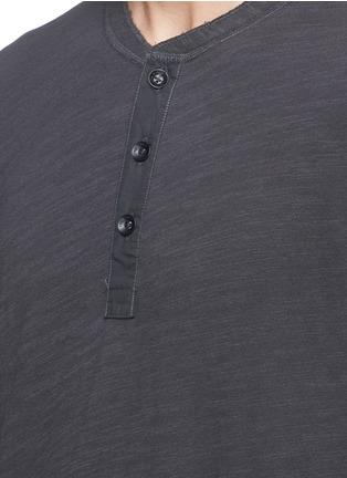 细节 - 点击放大 - RAG & BONE - 水洗效果单色纯棉上衣