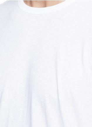 细节 - 点击放大 - RAG & BONE - 单色纯棉T恤