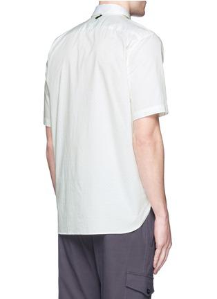 背面 - 点击放大 - rag & bone - 印花纯棉短袖衬衫