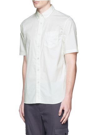 正面 -点击放大 - rag & bone - 印花纯棉短袖衬衫