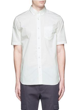 首图 - 点击放大 - rag & bone - 印花纯棉短袖衬衫