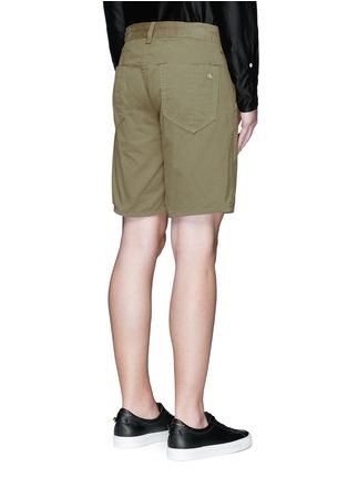 背面 - 点击放大 - RAG & BONE - 单色纯棉短裤