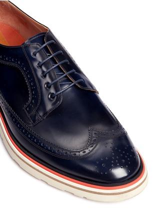 细节 - 点击放大 - PAUL SMITH - 雕花装饰德比鞋