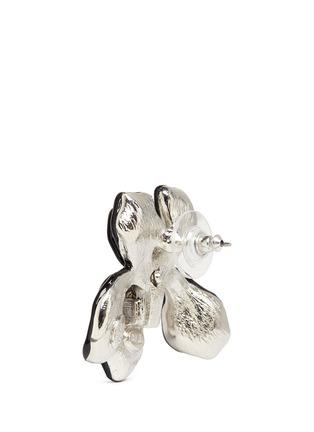 细节 - 点击放大 - KENNETH JAY LANE - 大小仿水晶花卉耳环