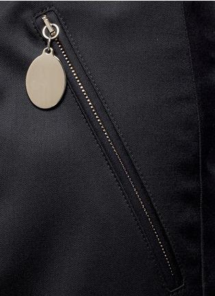 细节 - 点击放大 - STELLA MCCARTNEY - 锥形羊毛八分裤