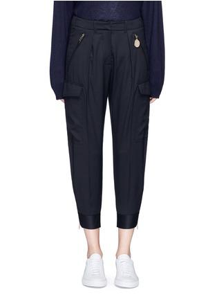 首图 - 点击放大 - STELLA MCCARTNEY - 锥形羊毛八分裤