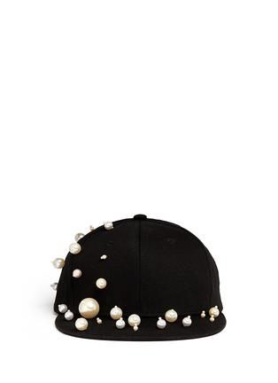 首图 - 点击放大 - PIERS ATKINSON - 人造珍珠装饰鸭舌帽