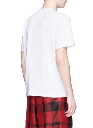 背面 - 点击放大 - SACAI - 字母刺绣纯棉T恤