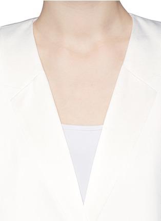 细节 - 点击放大 - THEORY - 'Nabiel C' satin mock lapel jacket